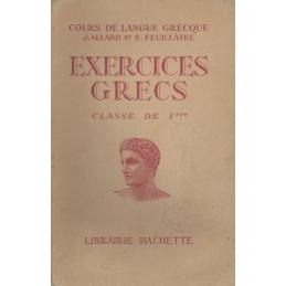 Exercices grecs. Classe de première