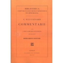 C. Iuli Caesaris Commentarii cum A. Hirti aliorumque supplementis