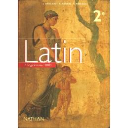 Latin 2e. Programme 2001