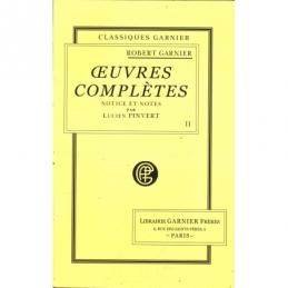 Œuvres complètes (théâtre et poésies) tome II