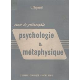Psychologie et Métaphysique