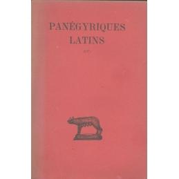 Panégyriques latins. Tome I : I-V