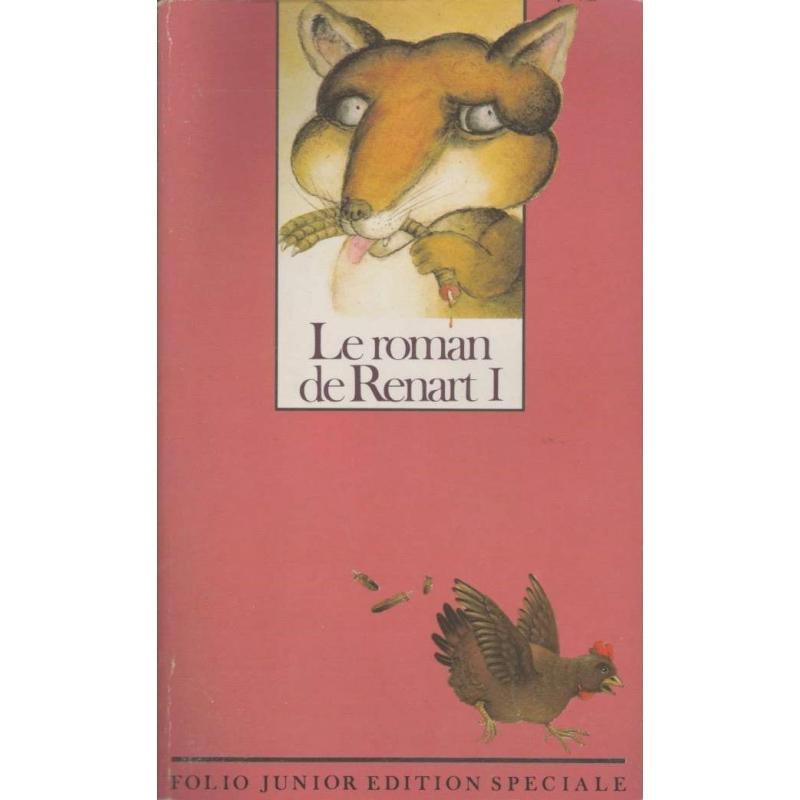 Le roman de Renart I (recto de couverture)