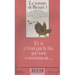 Le roman de Renart I (verso de couverture)