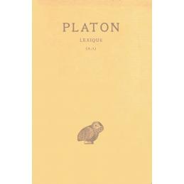 Œuvres complètes. Tome XIV 1ère et 2e partie (A-Λ et M-Ω) :  Lexique de la langue philosophique et religieuse de Platon