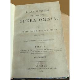 L. Annaei Senecae Philosophi - Opera omnia. Tome I