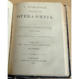 L. Annaei Senecae Philosophi - Opera omnia. Tome IV