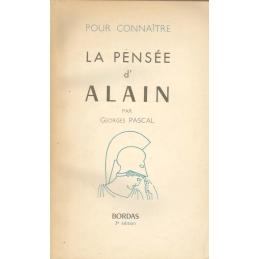 Pour connaître la pensée d'Alain