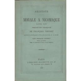 Morale à Nicomaque. Livre VIII