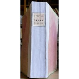 Publii Ovidii Nasonis Opera. Tomus secondus
