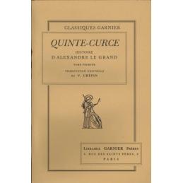 Histoire d'Alexandre Le Grand - Tome I