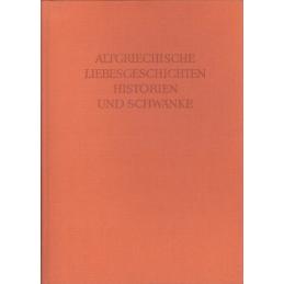 Altgriechische Liebesgeschichten, Historien und Schwänke