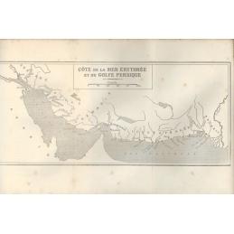 L'Inde. Côte de la mer Érythrée et du Golfe Persique.