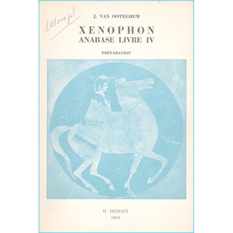 Xénophon. Anabase - Livre IV. Préparation