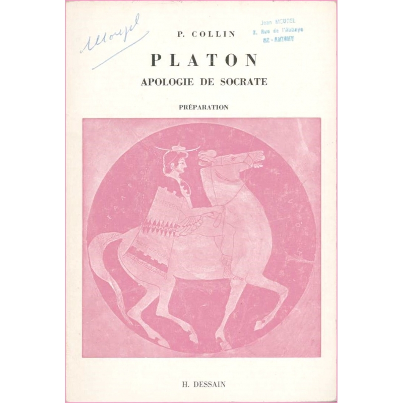 Platon. Apologie de Socrate. Préparation