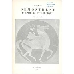 Démosthène. Première Philippique. Préparation