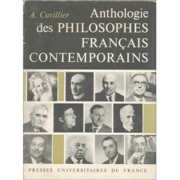 Anthologie des philosophes français contemporains