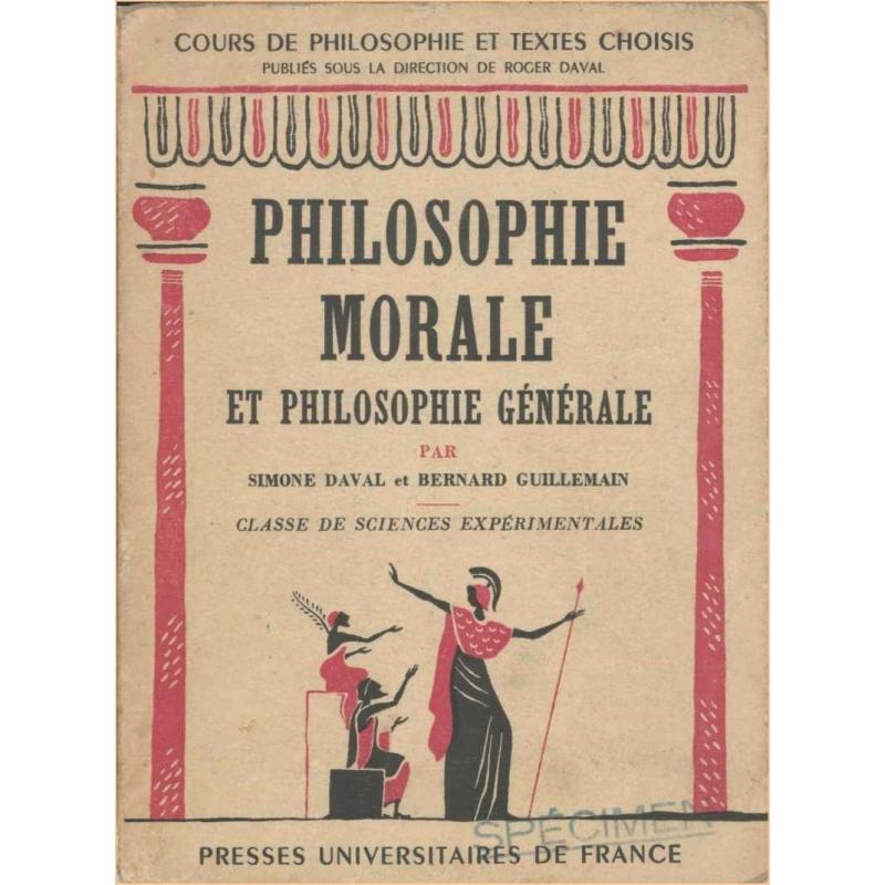 Philosophie morale et philosophie générale