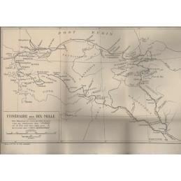 Carte : Itinéraire des Dix mille