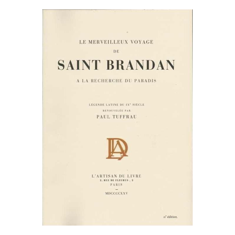 Le merveilleux voyage de Saint Brandan à la recherche du paradis