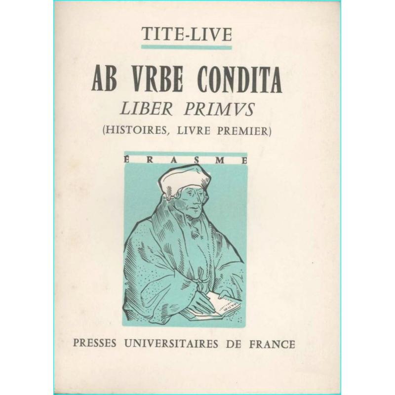 Ab urbe condita. Liber primus (Histoires, livre premier)
