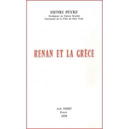 Renan et la Grèce