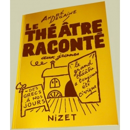 Le Théâtre raconté aux jeunes. Couverture