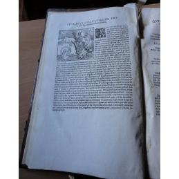 Omnium operum divi Aurelii Augustini episcopi, undecuque doctissimi, Epitome... Bois gravé