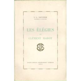 Les élégies de Clément Marot