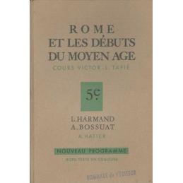 Rome et les débuts du Moyen Age. Classe de Cinquième