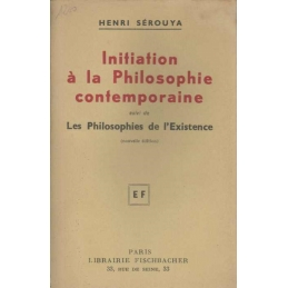 Initiation à la philosophie contemporaine