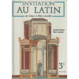 Invitation au latin de César à Marc-Aurèle à César 3e et Grands commençants