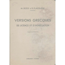 Versions grecques. Licence, Capes et Agrégation