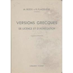 Versions grecques. Licence, Capes et Agrégation