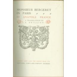 Monsieur Bergeret in Paris, page de titre