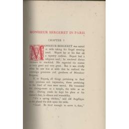 Monsieur Bergeret in Paris, page intérieure avec lettrine