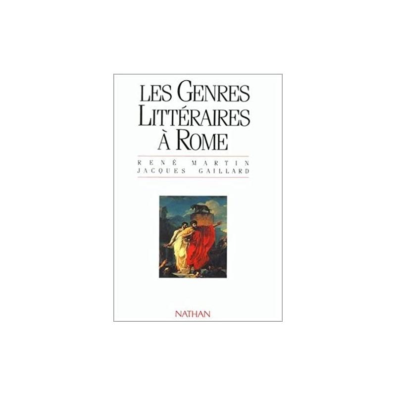 Les genres littéraires à Rome