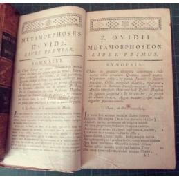 Métamorphoses, tome 1, première page du livre premier