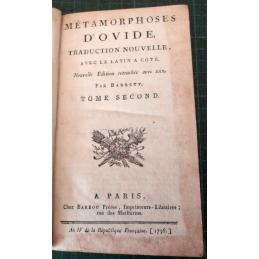 Métamorphoses, tome 2, page de titre