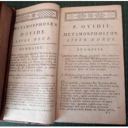 Métamorphoses, tome 2, première page du livre neuf