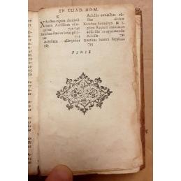 Homeri Ilias cum M. Aemilii Porti, Francisci Porti Cretensis F. Latina ad verbum interpretationi