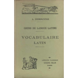 Cours de langue latine : Vocabulaire latin