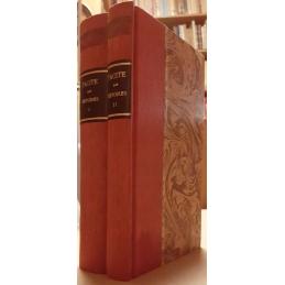 Histoires. Tome I (I-III) et tome II (IV et V). Couvertures.