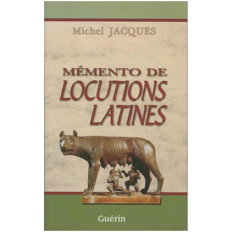 Mémento de locutions latines