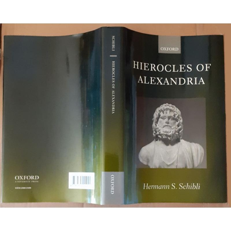 Hierocles of Alexandria. Jaquette