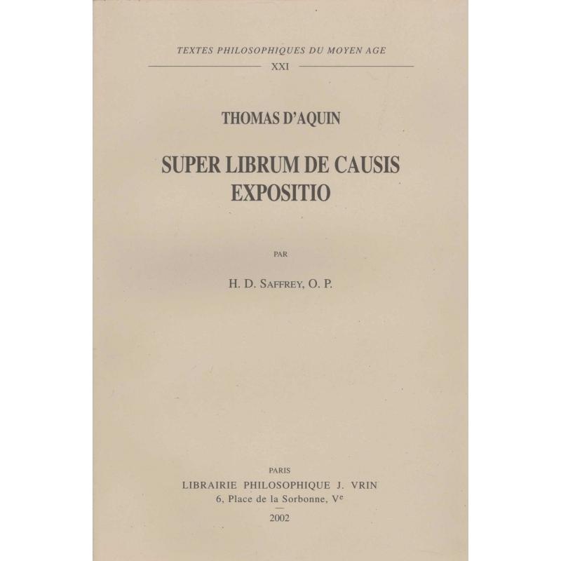 Super librum de causis expositio