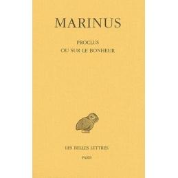 Proclus ou sur le bonheur