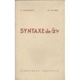 Syntaxe de av