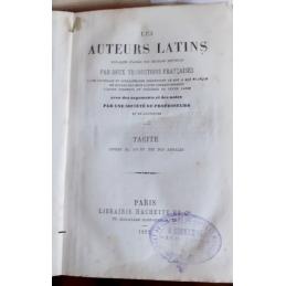 Livres XI, XII et XIII des Annales relié avec le Dialogue des orateurs. Les auteurs latins expliqués … Page de titre Les Annales
