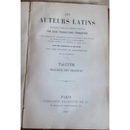 Livres XI, XII et XIII des Annales relié avec le Dialogue des orateurs.